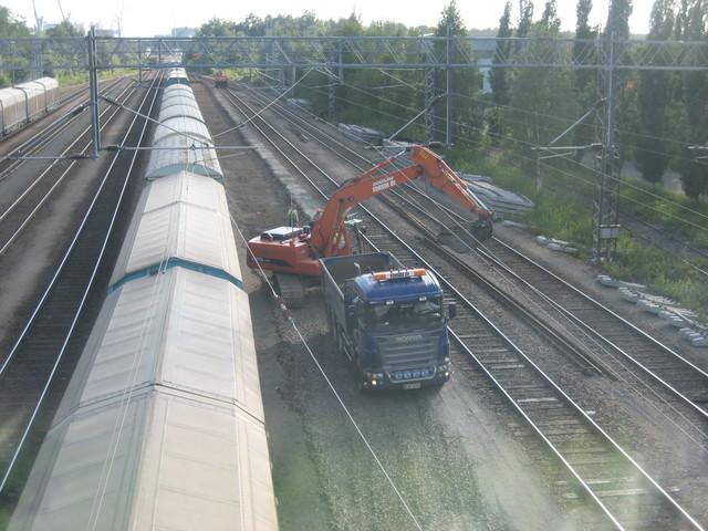 Rauman ratapihan päällysrakennetyöt 2007