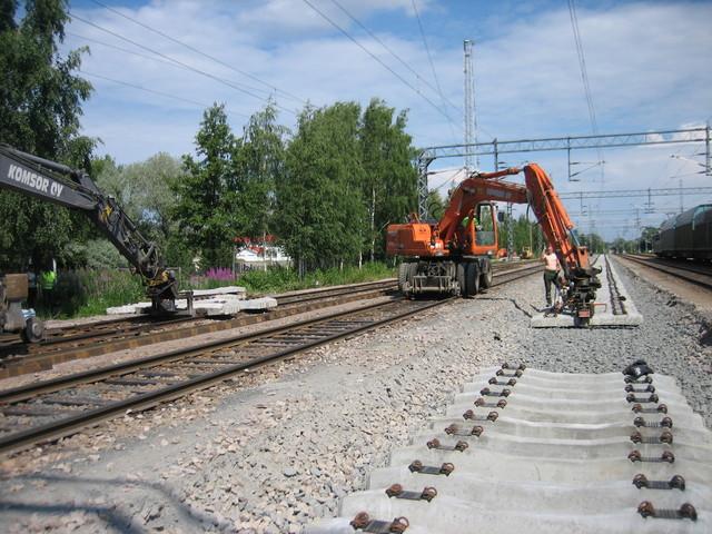 Rauman ratapihalla 2007