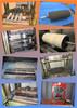Kumituksia ja kumituotteiden valmistusta tehtaalla
