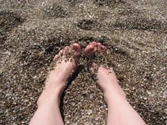 Lämmin hiekka...