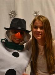 Lumiukko ja Sini
