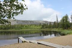 Aarnilammen uimaranta Luostolla