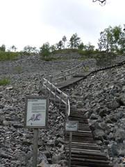 Portaat Ukko-Luoston rinteellä
