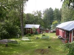 Mäenpään sauna ja ulkorakennuksia