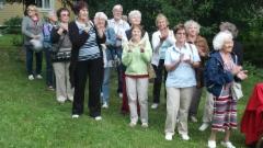 Piritan eläkeläisten vierailu Mäenpäässä 090716