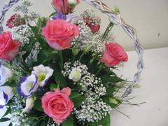Romanttinen kukkakori äidille-kurssi