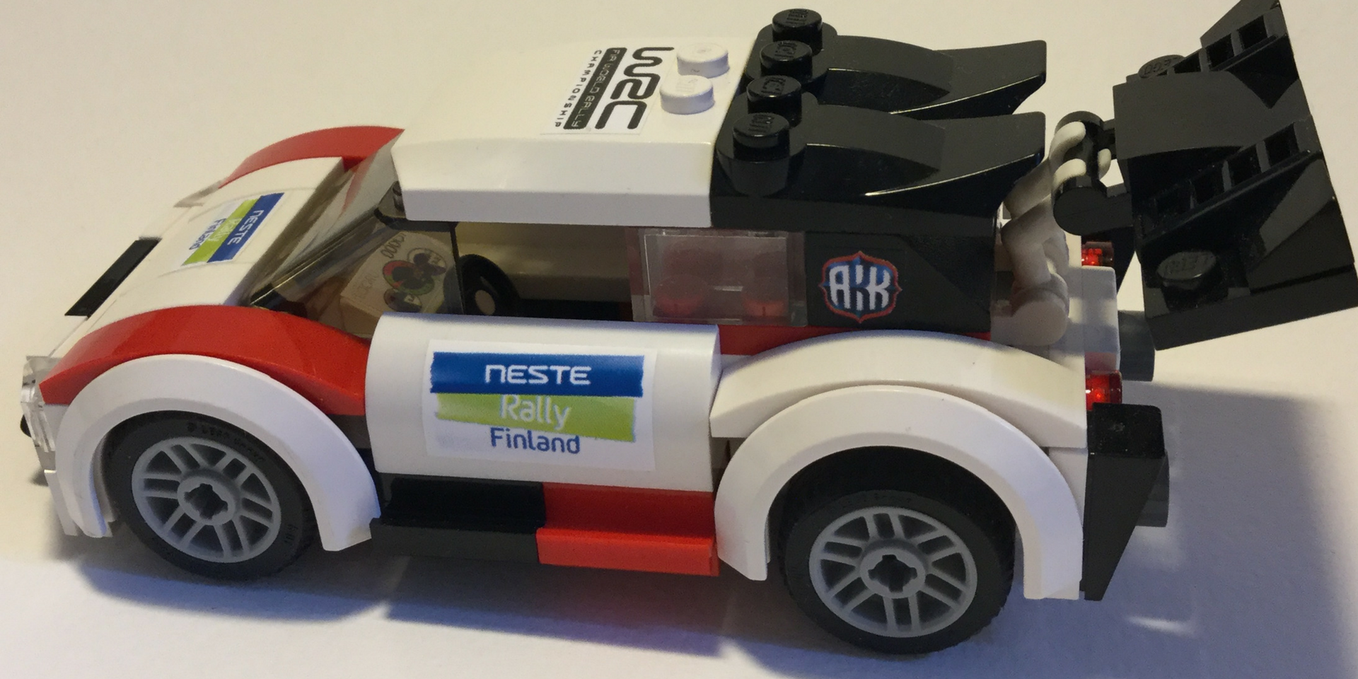 WRC RALLY CAR LEGO