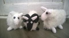 Pässejä ja lampaita