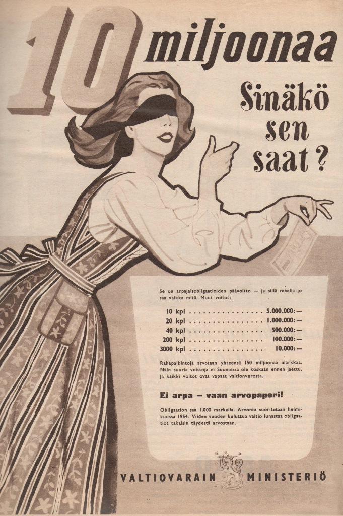 Vanhoja Suomalaisia Mainoksia