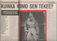homo lihas karkea seksi