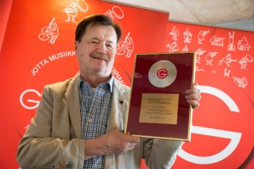 Gramex-palkinto toimittaja Jake Nymanille | Kulttuuritähdet