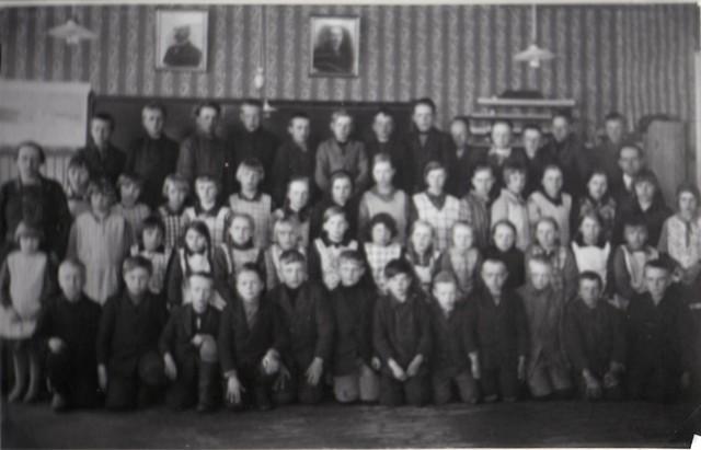 Ylikulman koulukuva n 1935.