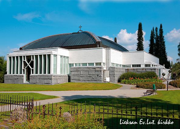 K080 Lieksan Ev.Lut.kirkko