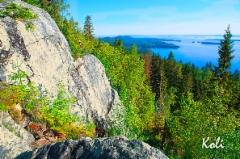 K148 Ukko-Kolin kallioita