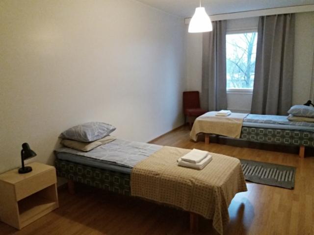 kalustettu_asunto_kolmio_porvoo_makuuhuone