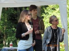 Tiina Elo, kopterikuvaaja ja Leena Kärävä-Lindgren