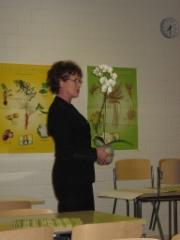 Anja jakaa orkideoita