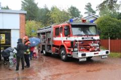 Paloauto vieraili Laajalahtipäivällä