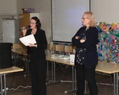 Hannele Rämö ja Sari Ojanen