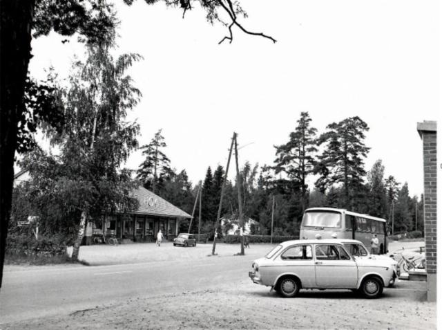 Laajalahden keskusta 1960-luvulla
