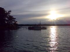 Auringonlasku Matosaaressa HSM71