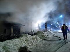 Rakennuspaloa