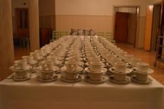 Aika monta kahvikuppia