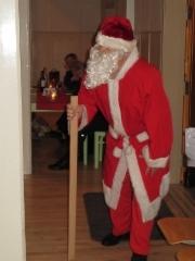 Joulupukki saapuu