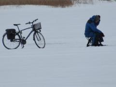 Pyörälläkin jäälle