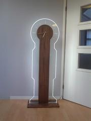 led-valaistu kello