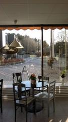 Cafe Akseli näkymä ulos