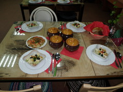 Päivällispöytä