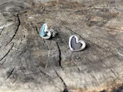 Sydän korvakorut, 85 €