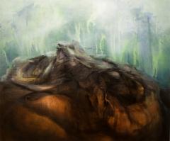 Soil Resurrected / Ylösnoussutta maata. 2019 oil on canvas / öljy kankaalle 100x120