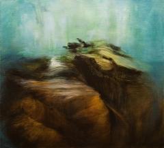 Soil Resurrected III / Ylösnoussutta maata III, 2019 oil on canvas / öljy kankaalle 49x54cm