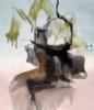 Soil resurrected / Ylösnoussutta maata XI, 2020 oil and acrylics  70x60cm (Private collection)
