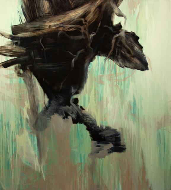 Time(Movement) / Aika(Liike), 2020 oil and acrylics 100x90cm