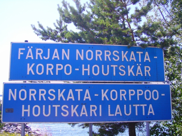 Norrskata -kyltti