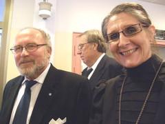 Lasse Saressalo ja Eija Hesso.