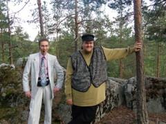 Christer Jokela ja Joni Renfors ovat Lavia-Seuran juhlien vakioesiintyjiä.