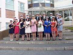 Lavian lukion viimeiset ylioppilaat