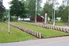 Lavian sankarihaudat heinäkuussa 2016.