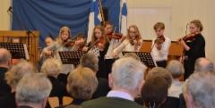 Lavian viuluniekat. (Kuva:Janette Loisko)