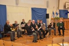 Lavian-Kiikoisten soittokunta. (Kuva:Janette Loisko)