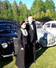 Mari ja Juha Vehkalahti. Kuva: VIrpi Suuriniemi
