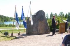 Sampakosken juhlaa. Mika Mäenpää. Kuva: Heta Tuomisto