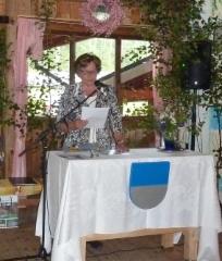 Suviehtoon puheen piti lehtori Arja-Liisa Risku.