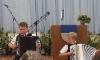 Robert ja Henrik Lamberg soittivat harmonikkaa yhdessä ja erikseen.Kuva: Anna-Liisa Huhtala
