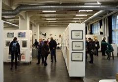 2015 Suomen Taidegraafikoiden teosvälitys Kaapelitehdas Helsinki