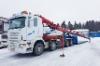 Koukku-Scania puomi auki